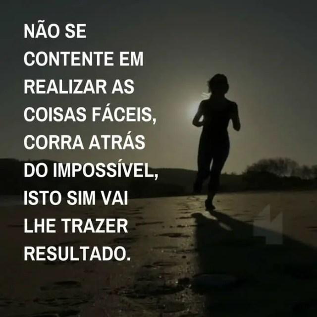 Corra tarás do impossível
