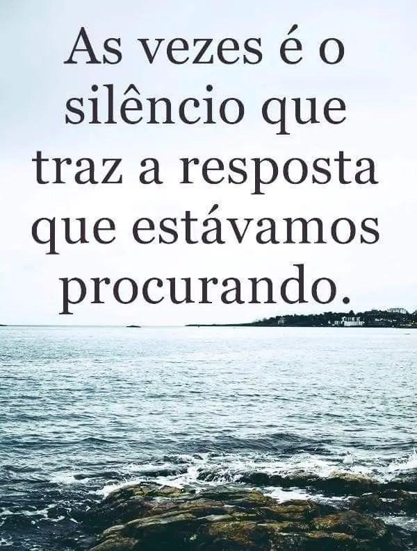 Ficar em silêncio pode ser a resposta que você precisa
