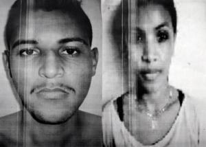 Abraão Moraes da Silva, 23, e Aline da Silva, 21 (Photo: disclosure)