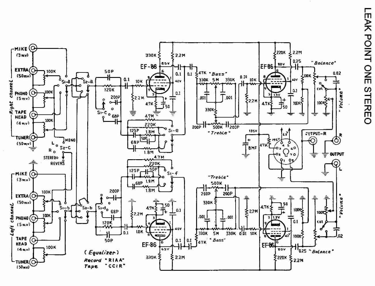 Leak Point One Stereo An Quad 405 Betreiben Rohrengerate