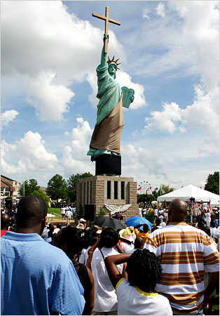 Christian Statue of Liberty