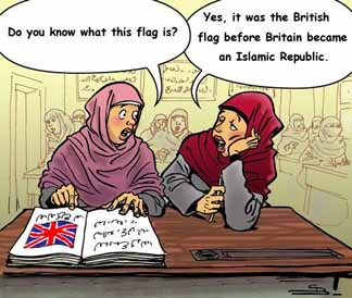 Britain turns Islamic
