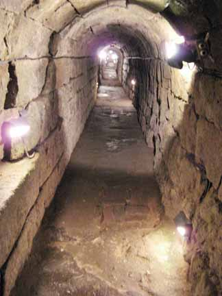 Roman sewer