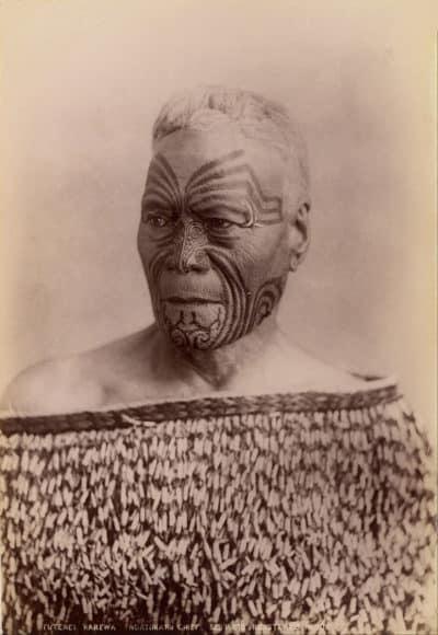 Moko on Maori
