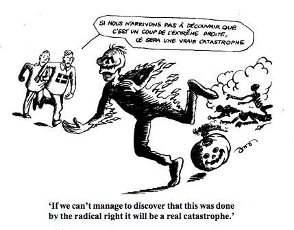 Halloween Radical Right Cartoon