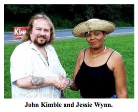John Kimble and Jessie Wynn