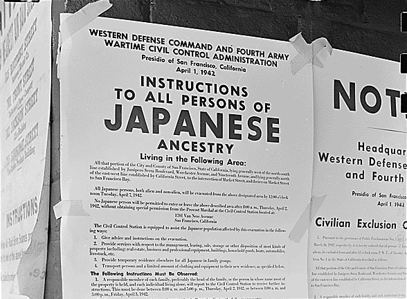 Japanese Exclusion Order