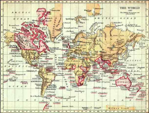 British Empire in 1897