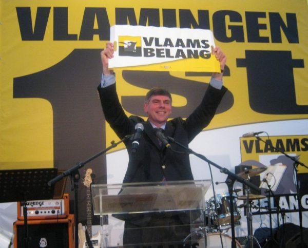 Filip Dewinter of the Vlaams Belang.