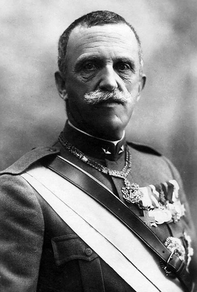 Victor Emmanuel III was King throughout the Fascist era.