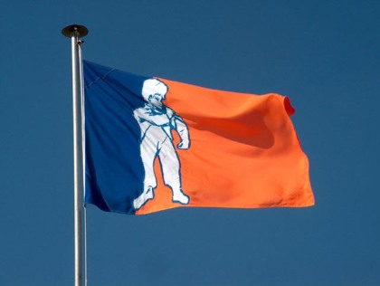 The official flag of Orania.