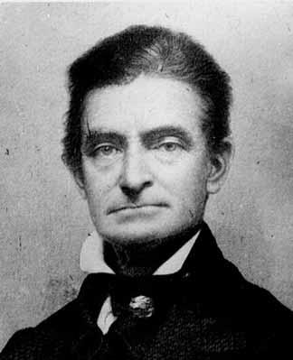 John Brown, hero to pacifist Ralph Waldo Emerson.