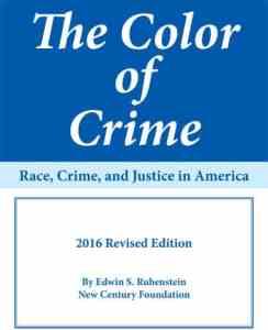 The Color Of Crime American Renaissance