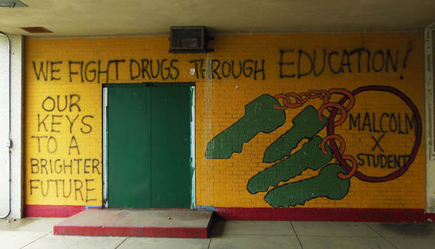 Malcolm X Fights Drugs