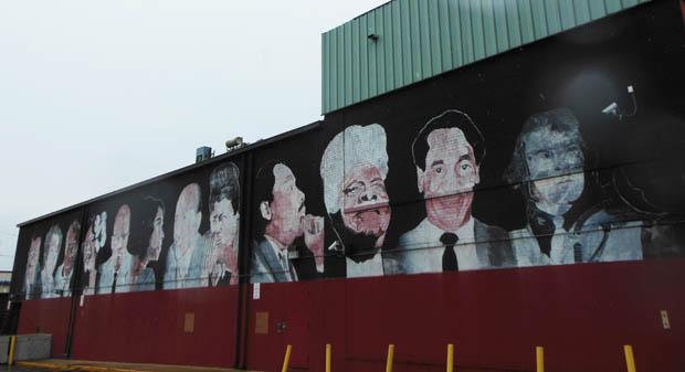 Anacostia Mural Black Heroes