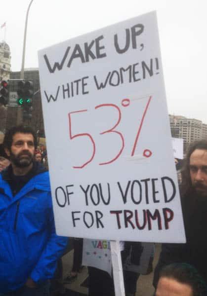 Wake up White Women