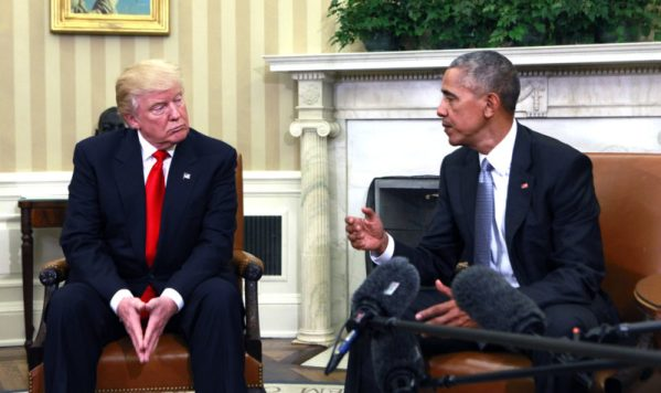 Obama and Trump Meet