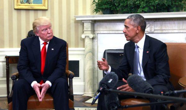 Obama and Trump Meet