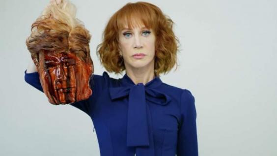 Kathy Griffin Beheads Donald Trump