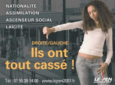 2007 French Political Poster