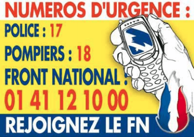 National Front Emergency Number