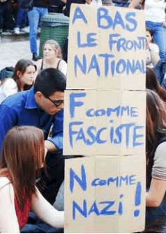 anti-Le Pen Sign 2007