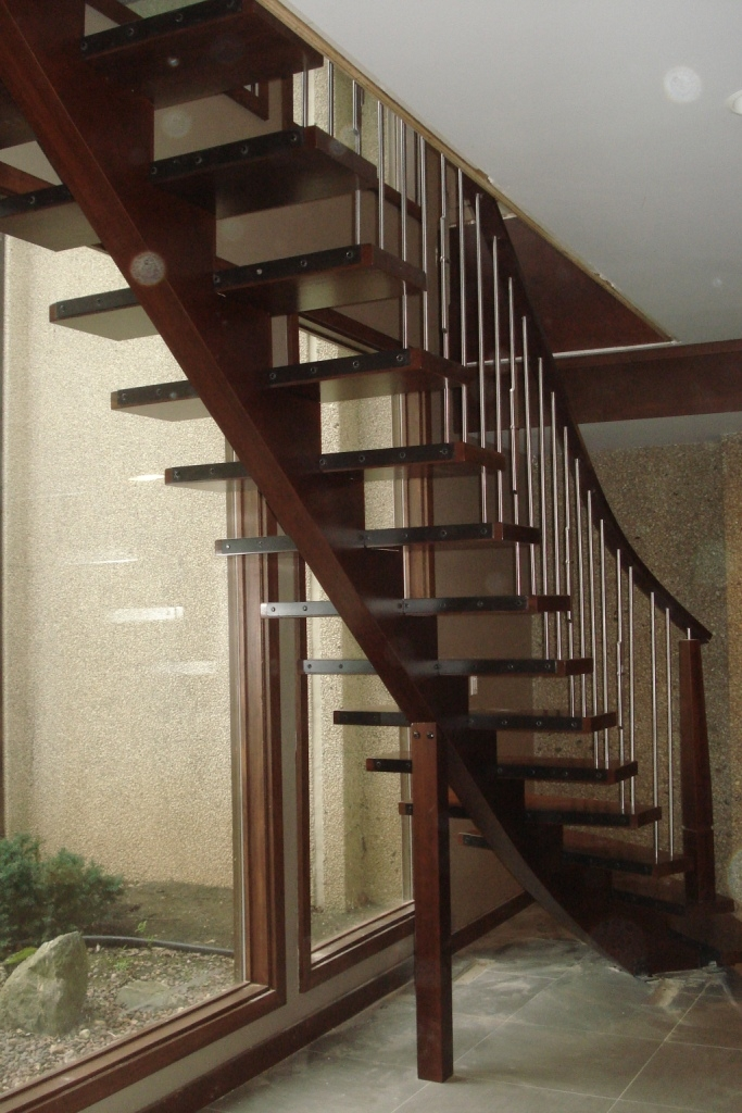 Wood Spiral And Curve Staircase Design Amron Stair Works | Modern Newel Post Designs | White | Maple | Banister | Oak | Interior