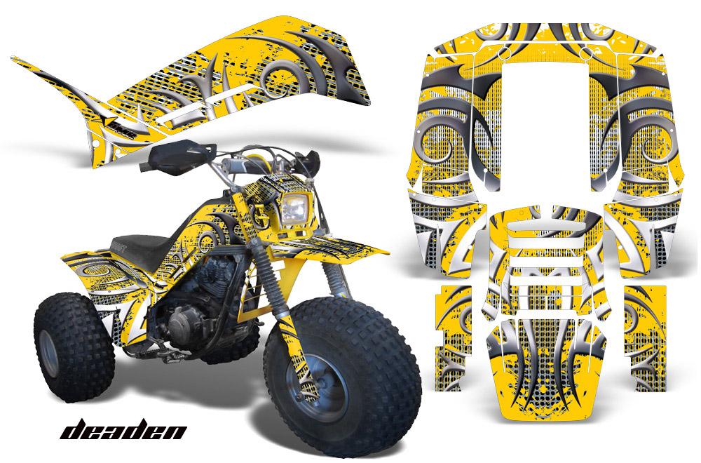 Yamaha Shaft Dx 225 Atv 3 Wheeler Graphic Kit