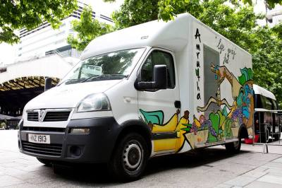 amrutha vegan food truck 4