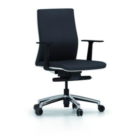 Silla giratoria forma 5 touch muebles de oficina for Sillas ergonomicas precios