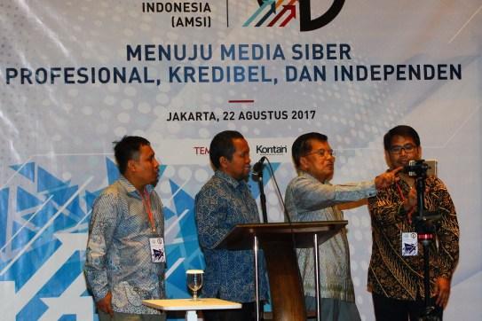 Wapres Buka Kongres Pertama AMSI