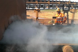 dry fog dust suppression in mining