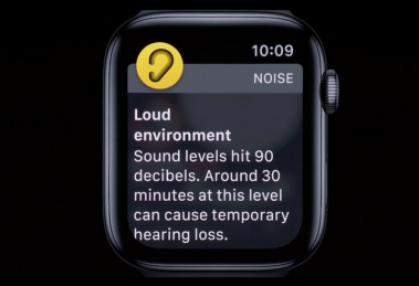Apple watch to monitor noise exposure and decibel levels - health and safety initiative