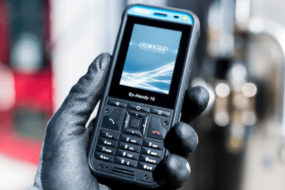 A new Ex Phone is capable of use in hazardous areas