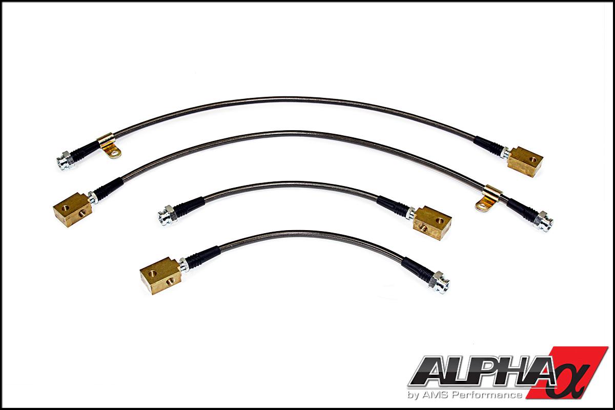 Alpha R35 Gt R Gtr Race Style Ss Brake Lines