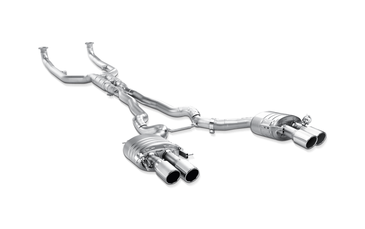 Akrapovic Bmw F12 F13 M6 Evolution Exhaust System