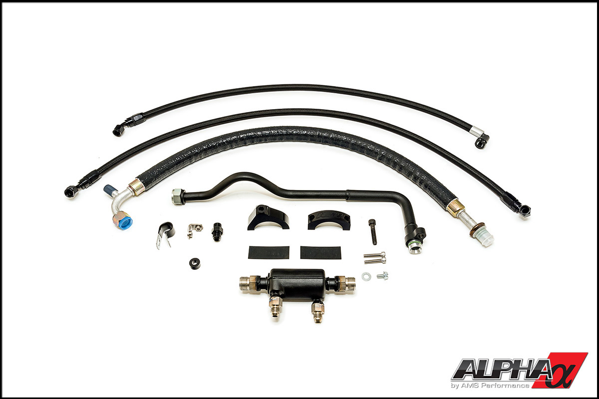 Alpha Performance R35 Gt R Fuel Cooler Now Available