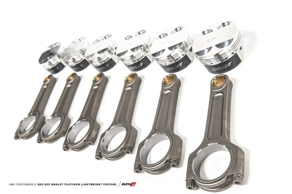 infiniti q60 q50 piston mods upgrade kit