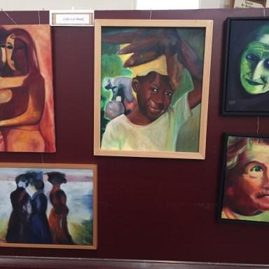 Prachtige schilderijen van Coby van de Broek