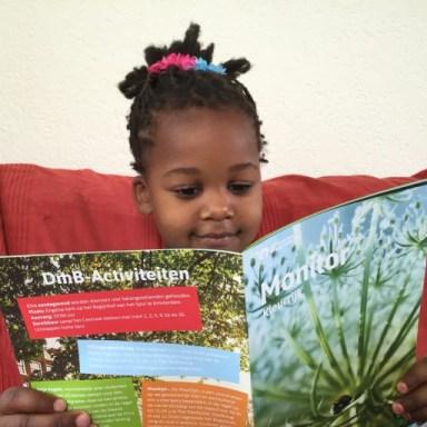 Mijn dochter leest