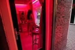 window prostitution in Amsterdam