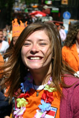 Amsterdam partido Queensday