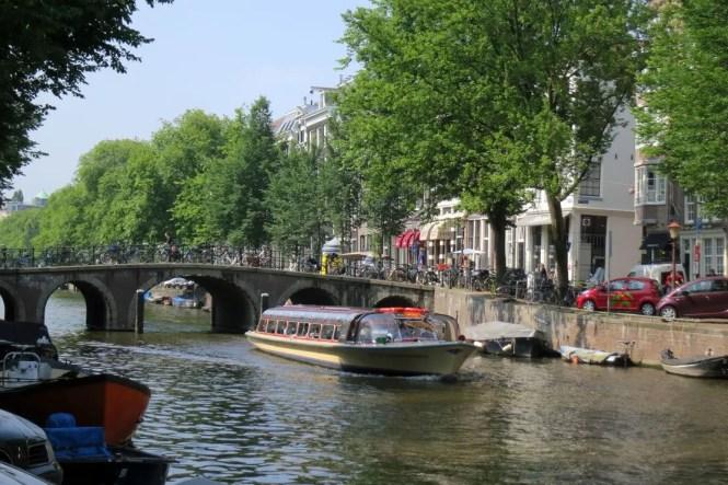 C Belt Area Sightseeing Boat Amsterdam