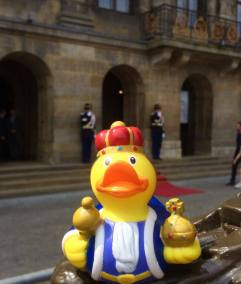King Rubber Duck