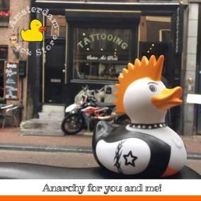 Punk a duck @Reguliersdwarsstraat Amsterdam