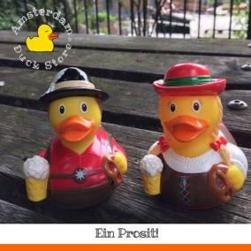 Oktoberfest rubber ducks Amsterdam Duck Store