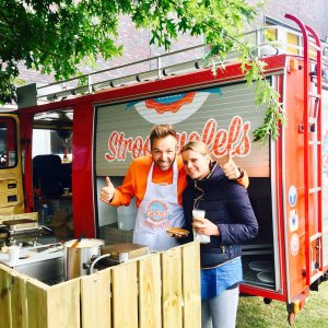 bedrijfsfeest Amsterdam! Good Cookies Foodtruck