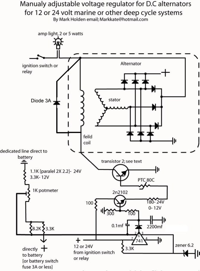 Hitachi 24 Volt Alternator Wiring Diagram : Wps alternator wiring diagram connector