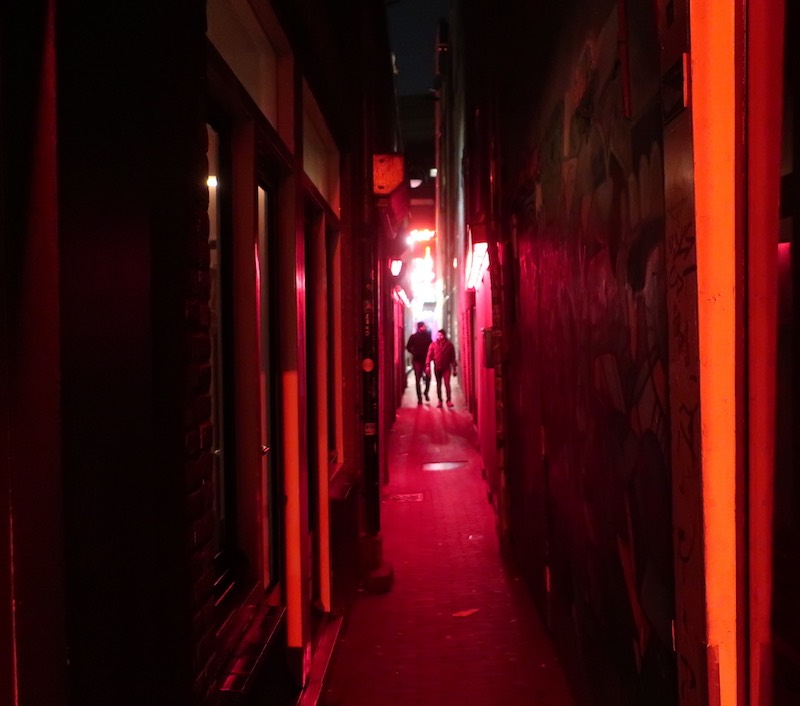 Amsterdam red light district age
