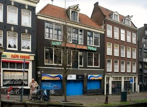 Mata Hari in Amsterdam's Red Light District. This gambling house (or casino) is turned into a restaurant.